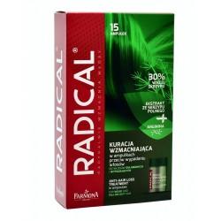 RADICAL Ampułki przeciw wypadaniu włosów 15x5ml