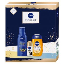 NIVEA Touch of GOLD A3 ZESTAW