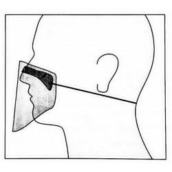 mini PRZYŁBICA maska osłona...