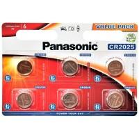 Bateria  Panasonic CR2025 litowa 3V LITHIUM  6szt