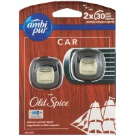 Ambi Pur Car 2x2ml   OLD SPICE