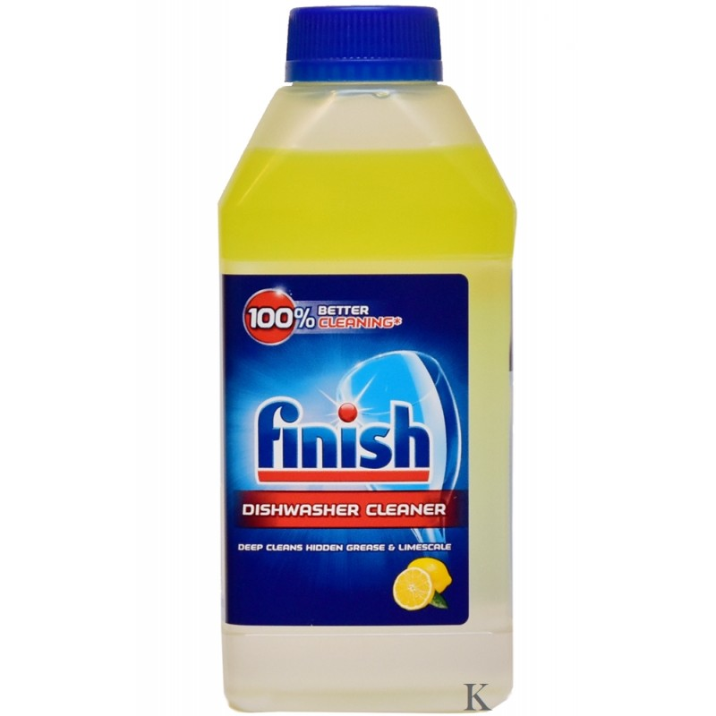 Finish płyn do czyszczenia Zmywarki Lemon 250ml