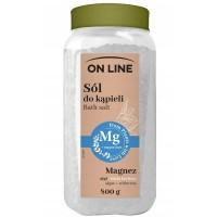 Mg Sól do kapieli Algi & Biała herbata On Line 800g