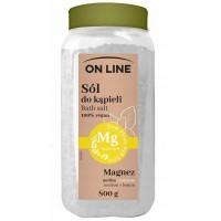 Mg Sól do kapieli Ginkgo& Rozmaryn On Line 800g