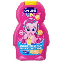Kids Szampon i Żel  On Line Lemoniada dla dzieci