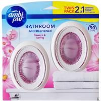 Ambi Pur odświeżacz do łazienki 2x7,5ml DUO Flower & Spring