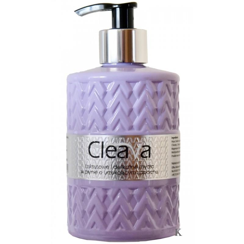 Cleava luksusuwe mydło w płynie Fiolet