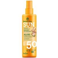HERBAL CARE SUN mleczko do opalania dla Dzieci spf 50