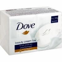 Dove białe mydło w Kostce 4x100g