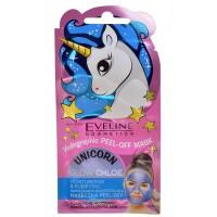 EVELINE Unicorn nawilżająca maska peel off